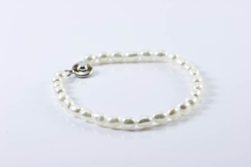 Children's Pearl Bracelet(Rice Shaped)