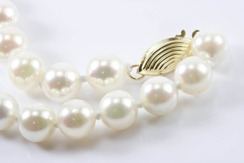 "Japanese Akoya Cultured Pearl Bracelet(7"" , 7mm, AAA Grade )"