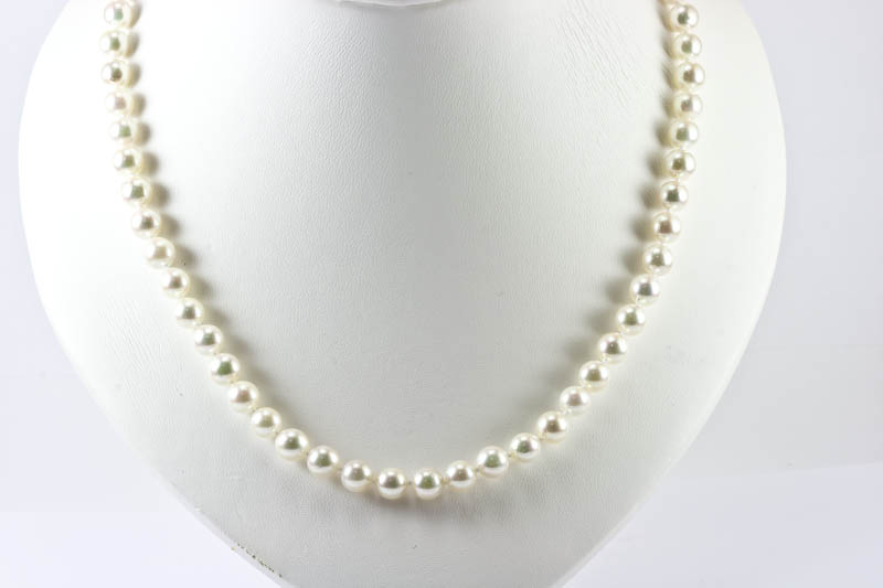 Akoya pearl necklace(7mm , AAA grade )