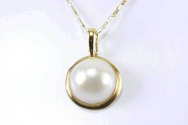 13mm mabe pearl pendant mapendant11 29500 the lin co we 13mm mabe pearl pendant aloadofball Image collections