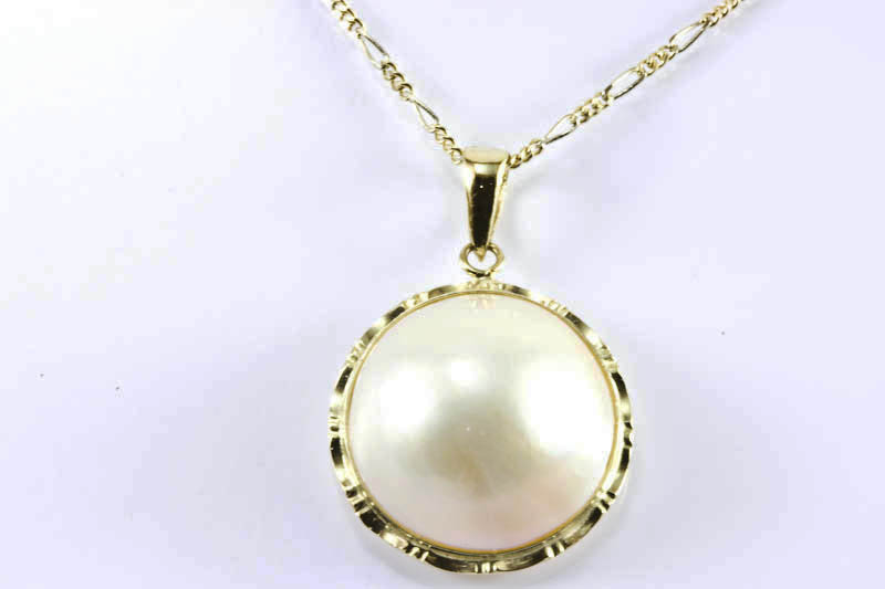 17mm Mabe Pearl Pendant