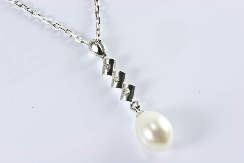 Elegance Pearl Pendant - Click Image to Close