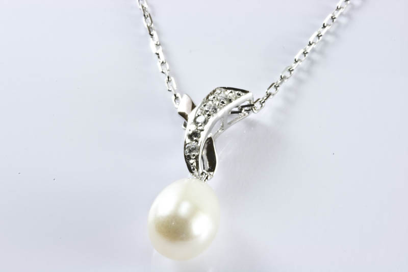 Sparkling Pearl Pendant - Click Image to Close