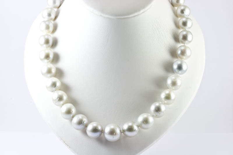 "South Sea Pearl Necklace(18"" 12.5-17mm )"